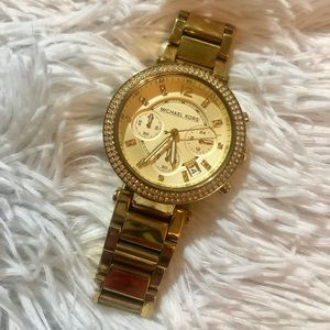 Michael Kors Parker Watch in Gold